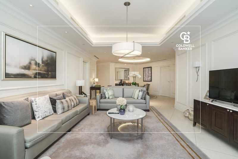 2 Sky Collection | High Floor | Full Burj and Fountain Views