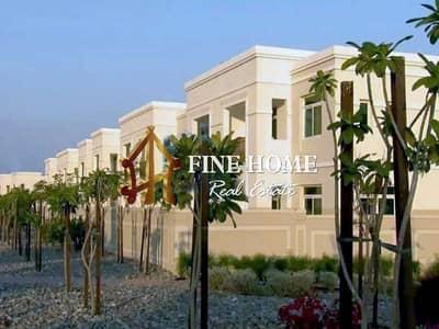 تاون هاوس 2 غرفة نوم للبيع في الغدیر، أبوظبي - Single Row I Modified Townhouse W Land Scape