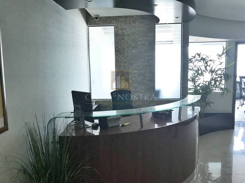 2 Fitted Office w/ Full Canal and Burj View