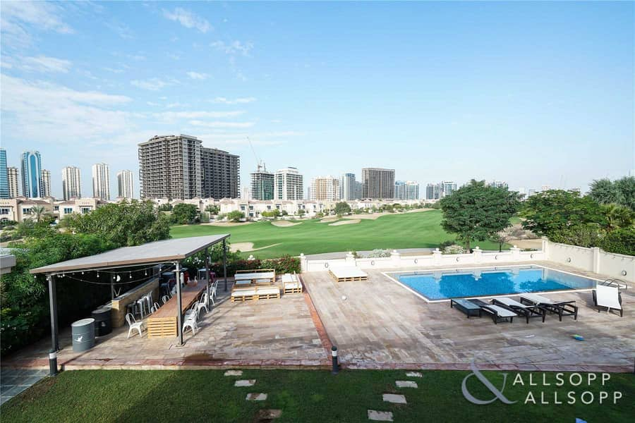 Vacant July   Huge Plot   Golf Course View