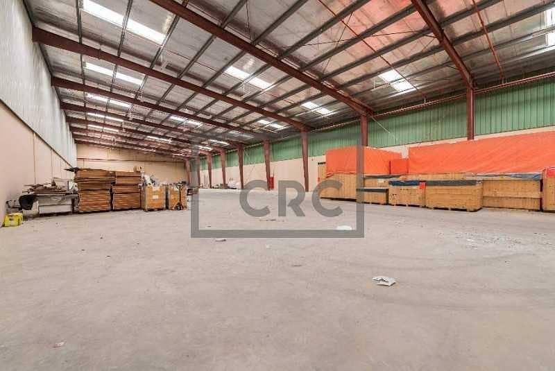 16 Full Facility Warehouse|Prime Location
