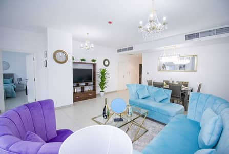 2 Bedroom Flat for Rent in Business Bay, Dubai - Luxury Furnished Apartment | Huge Sized | Free Internet | Free Swimming Pool | Free Parking | Exclusive OFFER |
