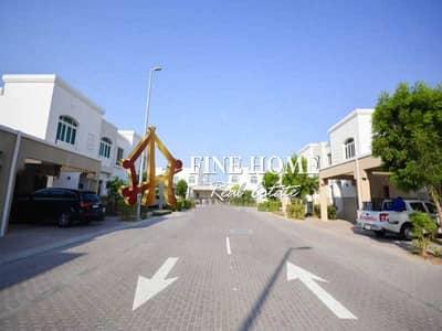 3 Bedroom Villa for Sale in Al Ghadeer, Abu Dhabi - Corner Villa I Prime Location I Ready To Move