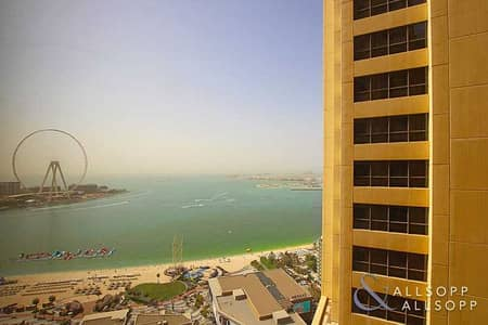 3 Bedroom Apartment for Rent in Jumeirah Beach Residence (JBR), Dubai - Three Bedroom | Unfurnished | Sea View