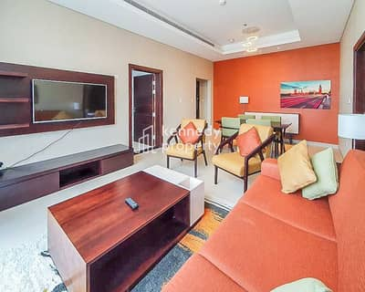 1 Bedroom Flat for Rent in Corniche Area, Abu Dhabi - Modern | Fully Furnished | Utilities Included