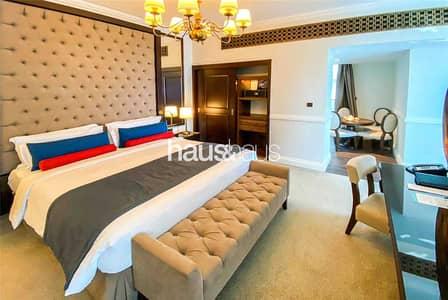استوديو  للايجار في نخلة جميرا، دبي - Serviced 1-Bed   Maid and Bills Included   Luxury