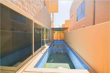 Luxurious 5br villa + pool in Al Raha Gardens