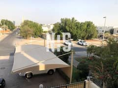2 villas in Al Mushrif Area   Each Villa ( 8 Bedrooms + Extension . . . . . . )