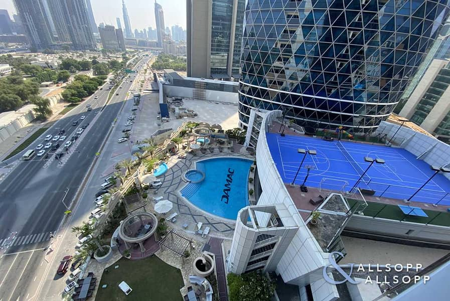 9 One Bedroom   DIFC View   Vacant   Balcony