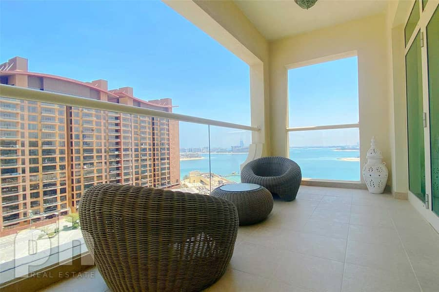 Sea View | Fully Furnished | Vacant | 2BR