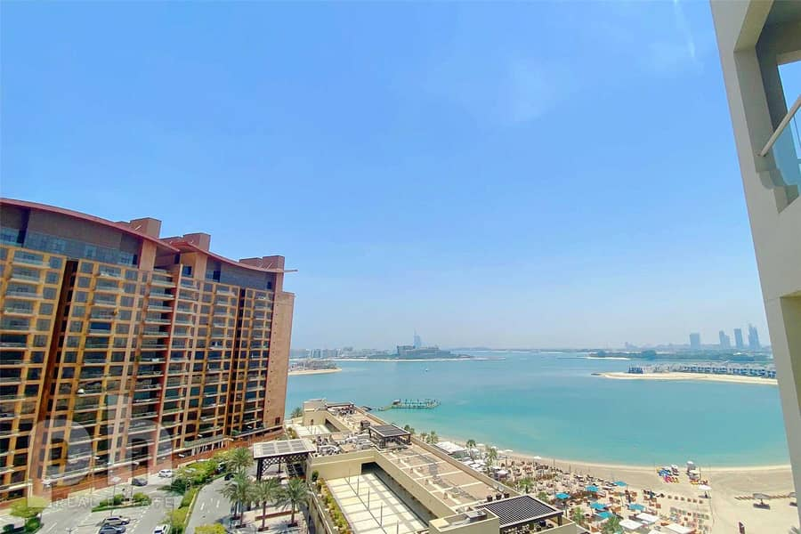 2 Sea View | Fully Furnished | Vacant | 2BR