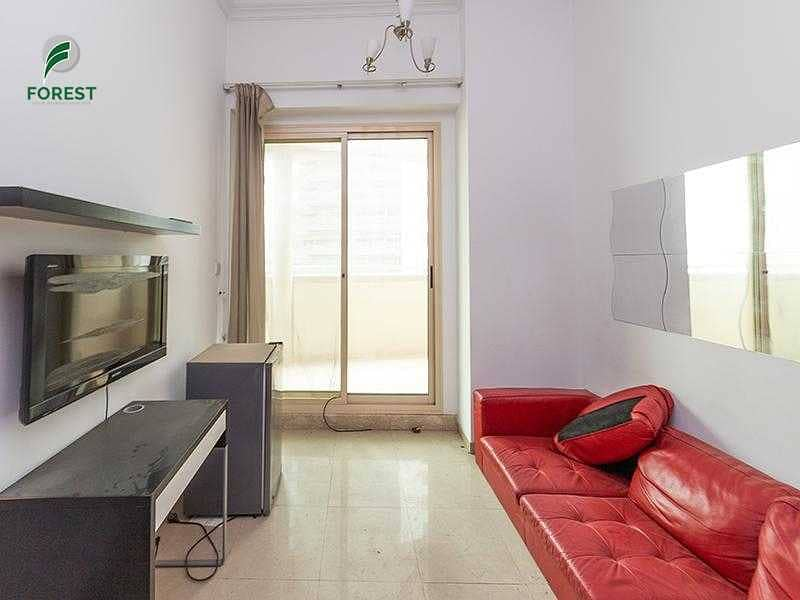 2 Well Maintained   1BR with Balcony   Mid Floor