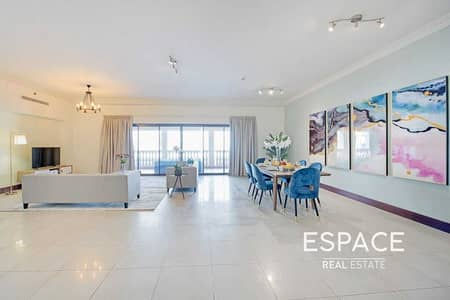 3 Bedroom Flat for Sale in Palm Jumeirah, Dubai - Furnished - Rare Type A - Park View - Jewel