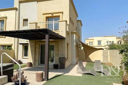 فیلا 3 غرف نوم للايجار في الينابيع، دبي - 3 Bed Plus Study | Upgraded | Vacant