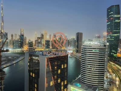 استوديو  للايجار في الخليج التجاري، دبي - Brand New - Furnished - Higher Floor -Open view