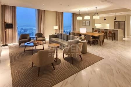 فلیٹ 4 غرف نوم للايجار في وسط مدينة دبي، دبي - All Inc | New High Floor Sky Collection
