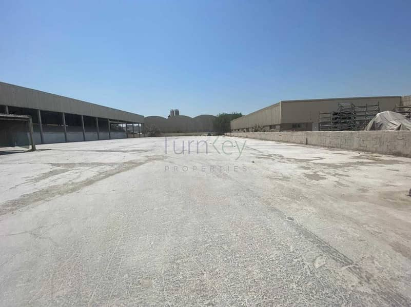 ALL IN ONE FACTORY LAND WITH OFFICE AND SHED