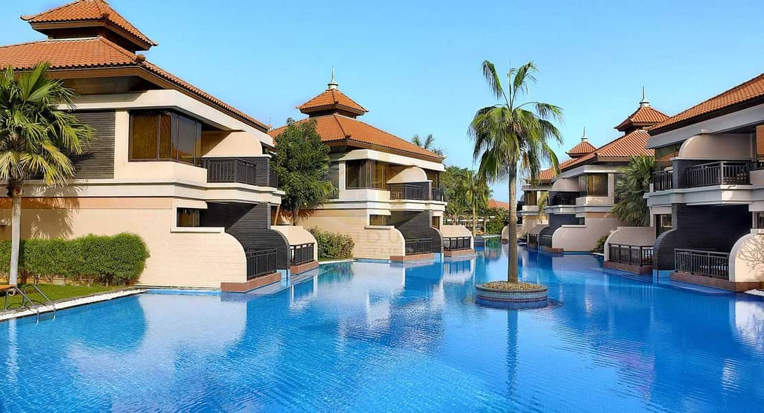 Lagoon View   Fully Furnished   Beach Access   Luxury Anantara Residences