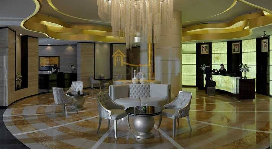 12 Canal View  2 beds Furnished Damac Cour Jardin