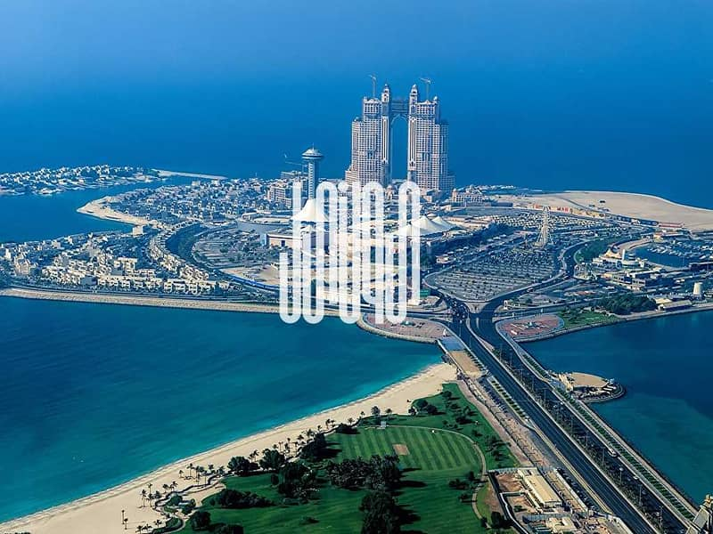 10 Luxury Living | Sea & Emirates Palace view| Spacious Rooms| NO COMMISSION