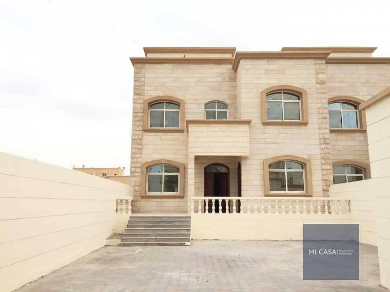 Separate entrance   Balcony + Maid & driver\'s room