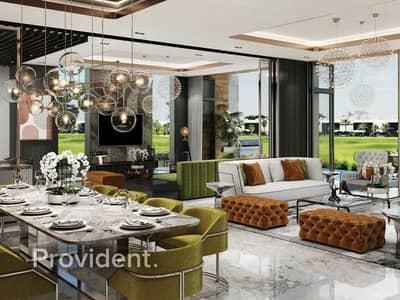 5 Bedroom Villa for Sale in DAMAC Hills (Akoya by DAMAC), Dubai - Melrose | Huge Terrace with Golf Course Views