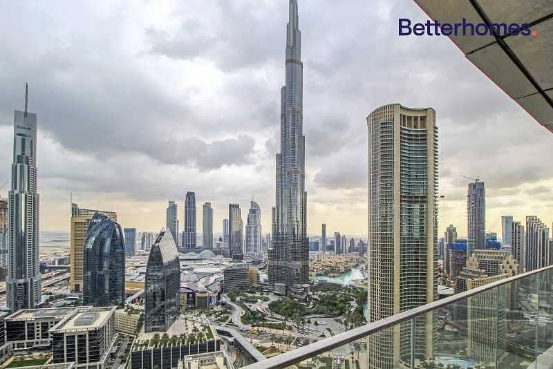 Best offer  Full Burj Khalifa View   High floor