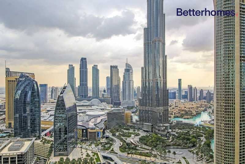 12 Best offer  Full Burj Khalifa View   High floor