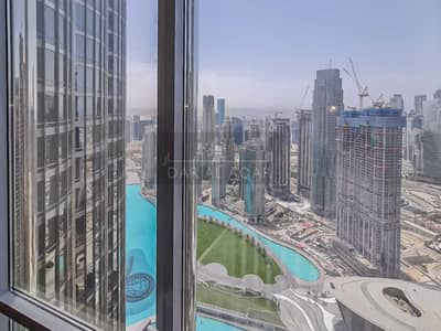 فلیٹ 2 غرفة نوم للبيع في وسط مدينة دبي، دبي - Fully Furnished | High Floor | Fountain Opera Sea Views