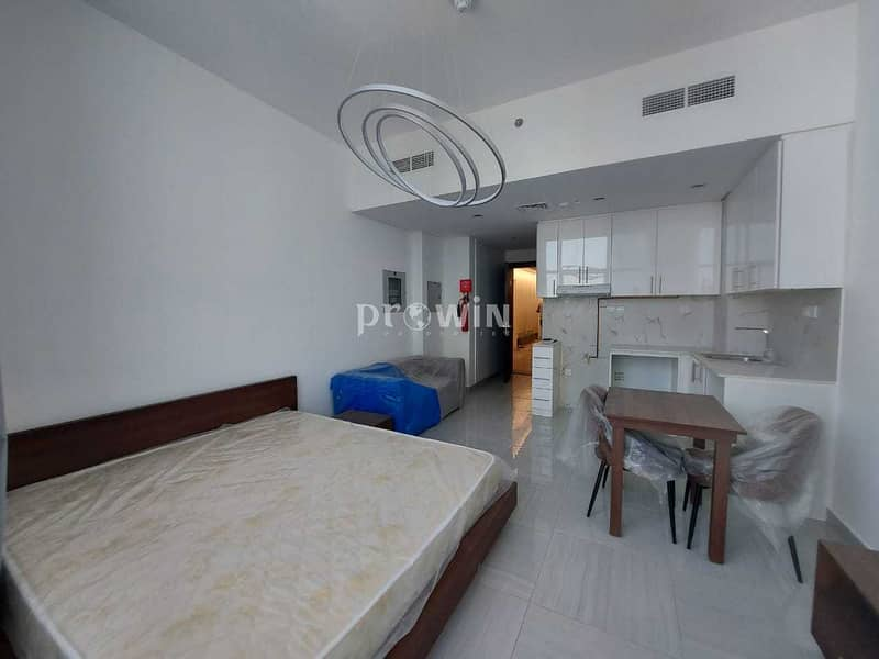 Brand Semi Furnished Studio for SALE | High-end Building | Best ROI | Kitchen  Equipped !!!