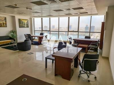 مکتب  للايجار في دفن النخیل، رأس الخيمة - Great Deal   Fully fitted office  Water view