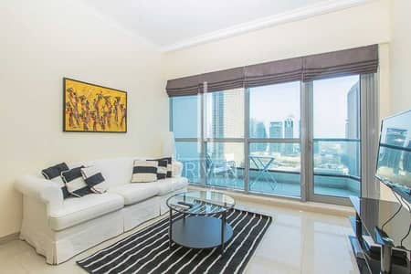 فلیٹ 1 غرفة نوم للبيع في دبي مارينا، دبي - Furnished and Modern | Full Marina Views