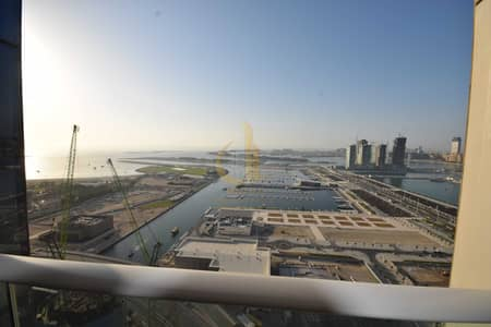 شقة 3 غرف نوم للبيع في دبي مارينا، دبي - Panoramic Sea View   Fully Furnished 2 BHK   2 Balconies