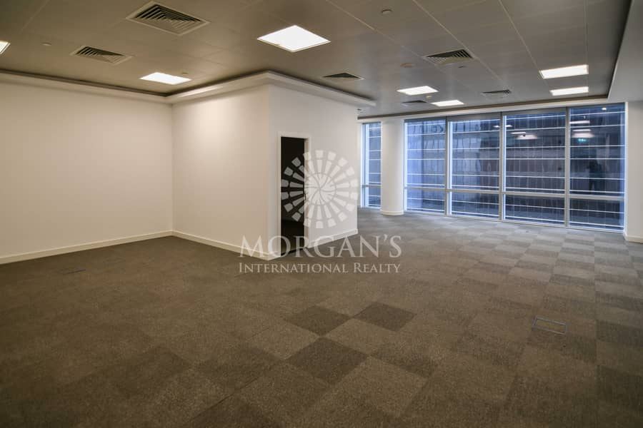 2 Vacant open layout office available for rent
