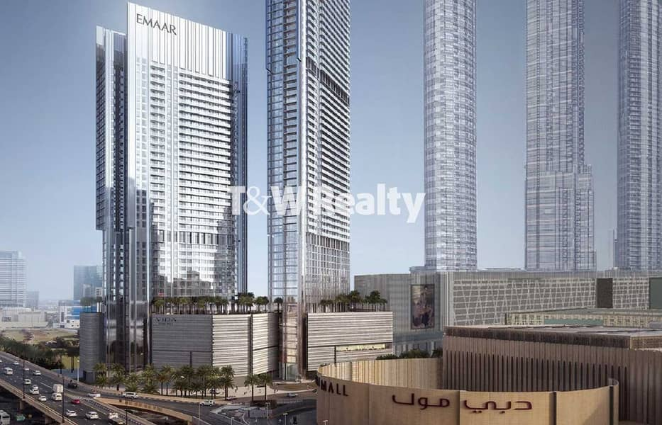 Burj Khalifa and Fountain Views   Prime 2 BR  Dubai Mall access
