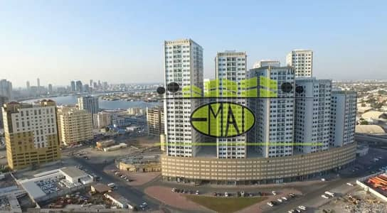 2 Bedroom Flat for Rent in Ajman Downtown, Ajman - Ajman Pear Towers   City  view   2 Bed Hall   near City Centre