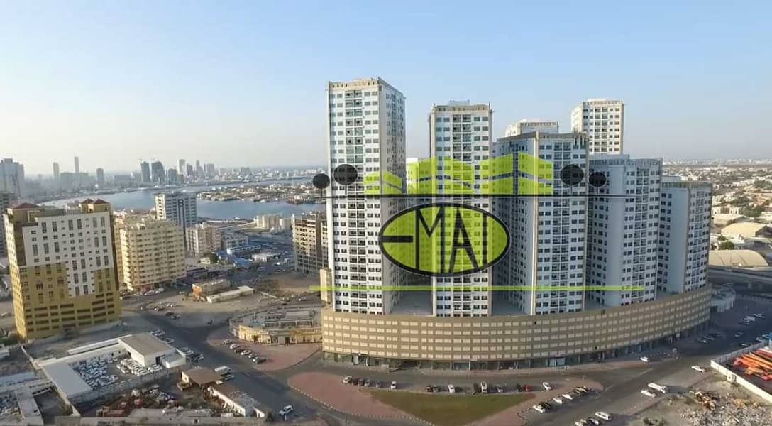 Ajman Pear Towers | City  view | 2 Bed Hall | near City Centre