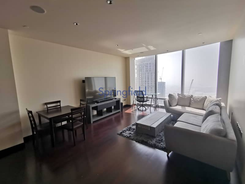 Spacious | Furnished | High Floor | Sea View
