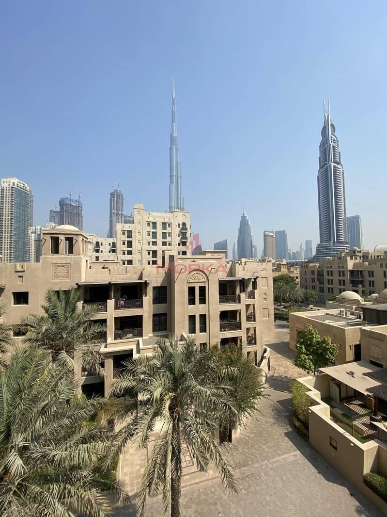 Vacant | 2BR + Study + Dinning area | Full Burj Khalifa