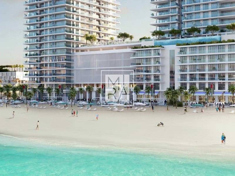 2 Exceptional Beach Lifestyle | EMAAR Beachfront | Stunning 1 Bedroom Apartment