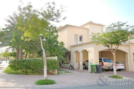 فیلا 3 غرف نوم للبيع في الينابيع، دبي - 3 Beds + Study | Corner Plot | Lake View
