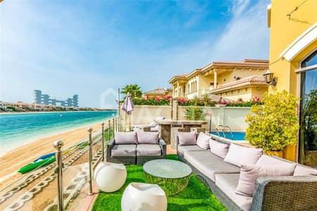 فیلا 5 غرف نوم للايجار في نخلة جميرا، دبي - Must See / Luxurious /Unfurnished /Vacant now!