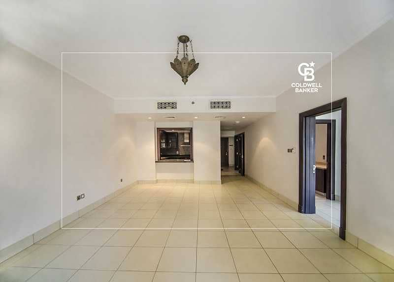 Spacious 2 Bedrooms and Balcony with a great view