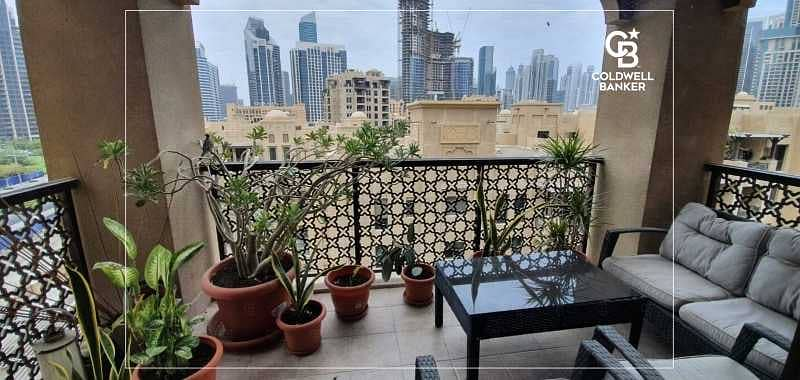 12 Spacious 2 Bedrooms and Balcony with a great view