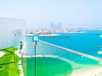 3 Bedroom Penthouse for Sale in Palm Jumeirah, Dubai - Unbeatable Sea View | Roof Terrace | Private Pool