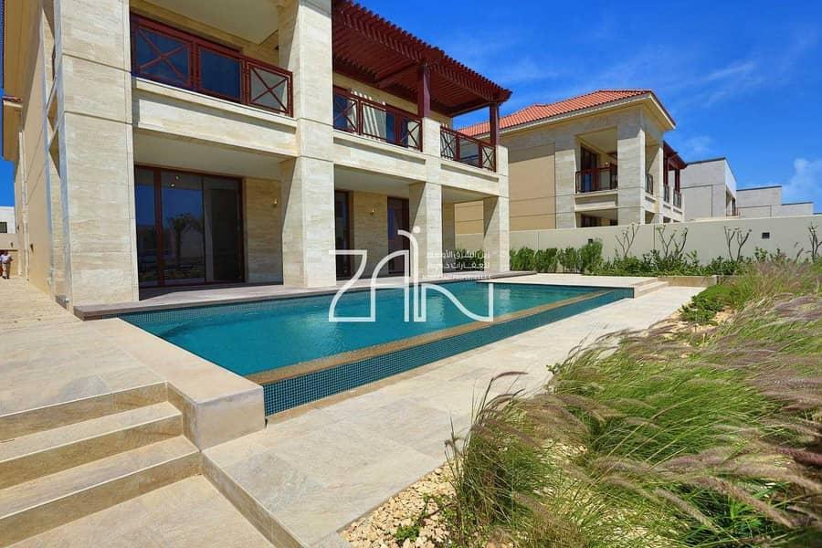 Partial Mangrove View 7 BR Villa Close to Beach