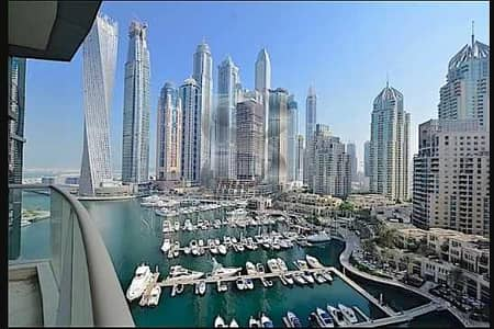 2 Bedroom Flat for Sale in Dubai Marina, Dubai - Beautiful |Full Marina  03 type | 2BR + Maid + Study
