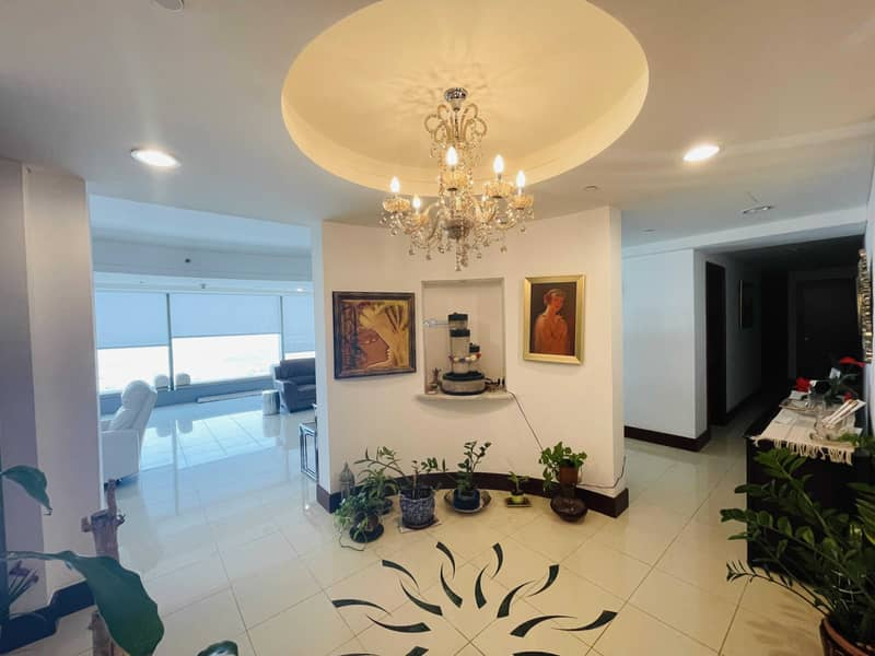 Luxuary 3Br Simplex Apartment for Rent in Jumeirah Living