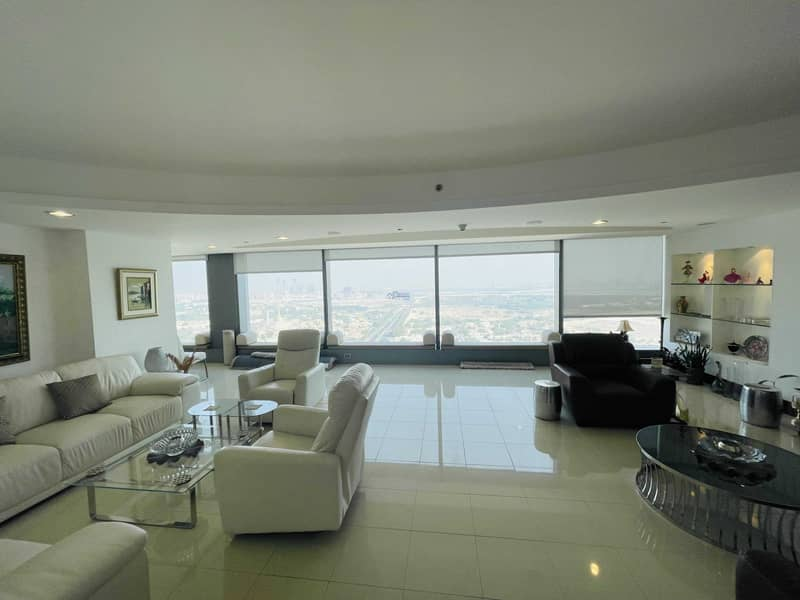 16 Luxuary 3Br Simplex Apartment for Rent in Jumeirah Living