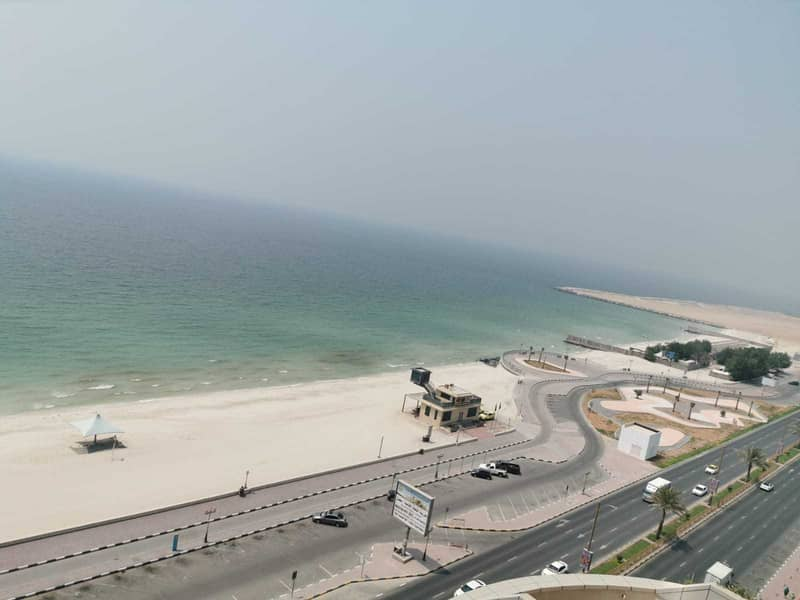 MINDBLOWING OFFER 2BHK FULL SEA VIEW AVAILABLE FOR RENT CORNICHE RESIDENCE TOWERS AJMAN